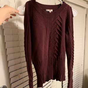 Burgundy Color Sweater, Size M